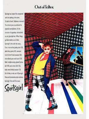 1980s Sportsgirl advertisement