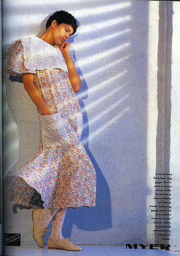 Anthea Crawford, Vogue 1985