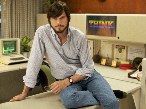 Aston Kutcher as Steve Jobs.