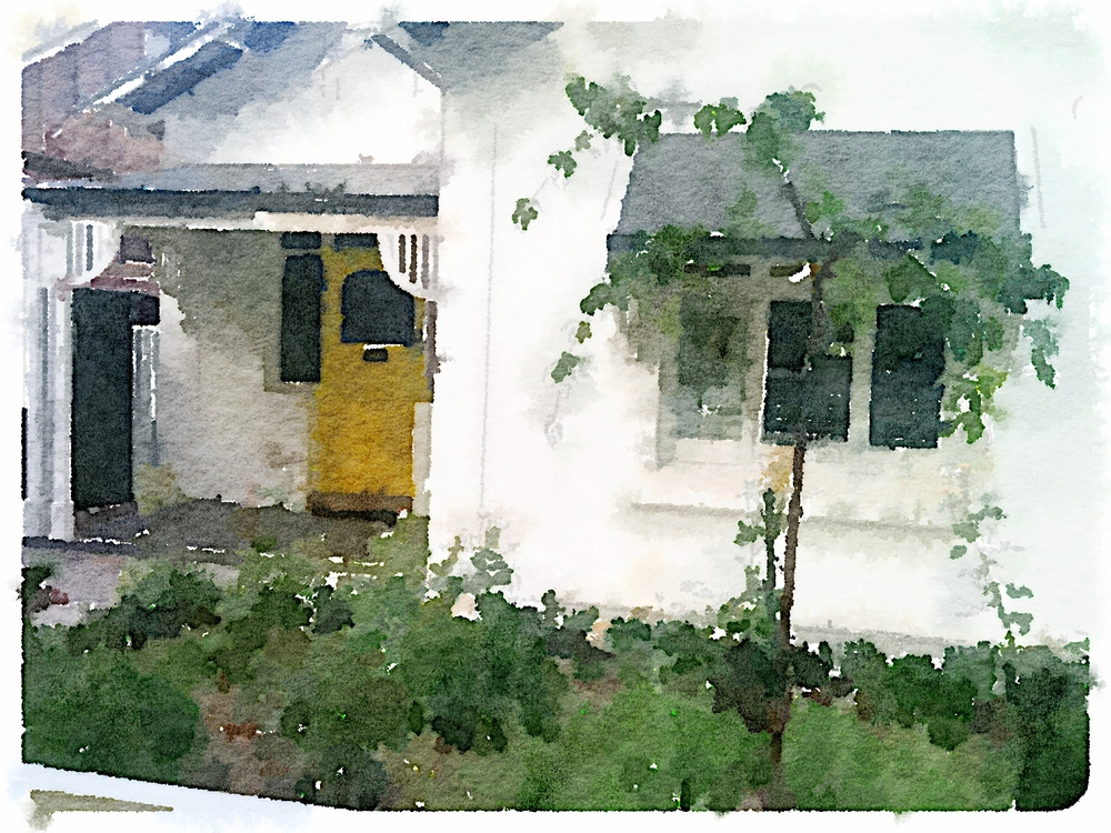 Chez Wayville via Waterlogue
