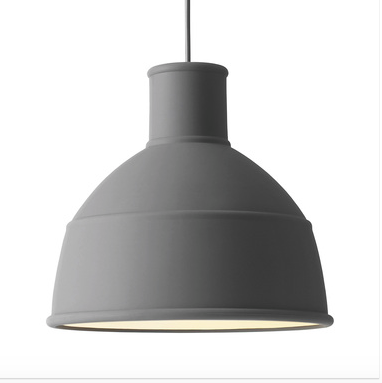 Muuto Unfold Pendant in Grey