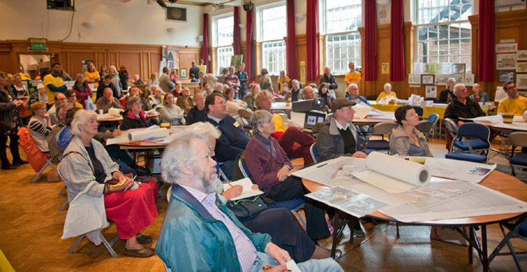 Berkhamsted Residents have their say  (Photo by Andy Spain)