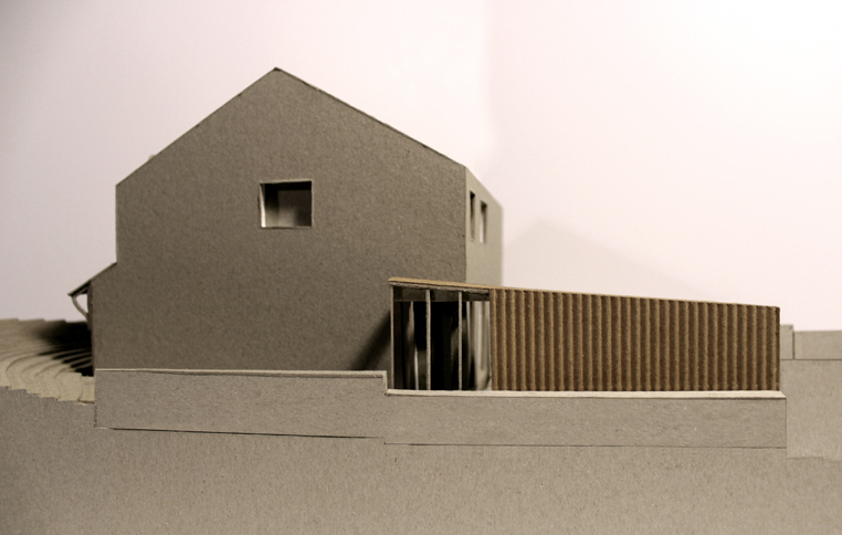 SIDE ELEVATION MODEL VIEW