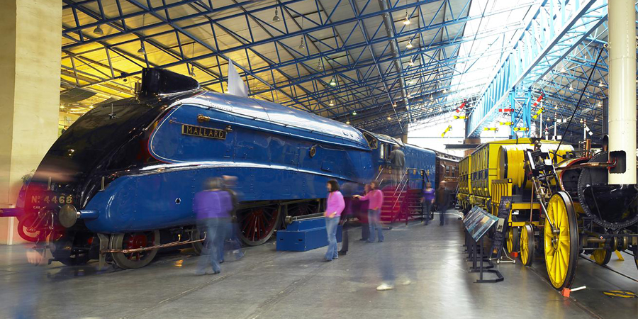 The National Rail Museum, York