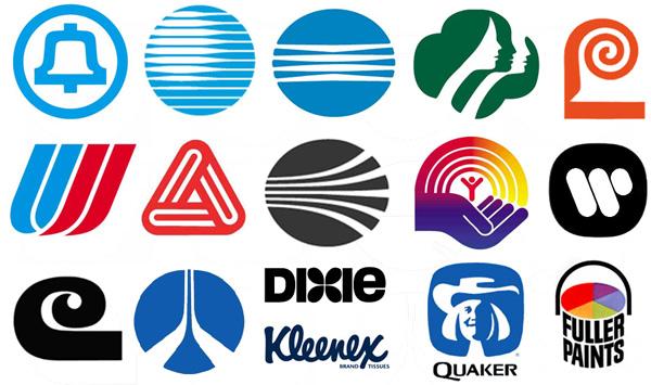 Logotipos creados por el diseñador Saul Bass.