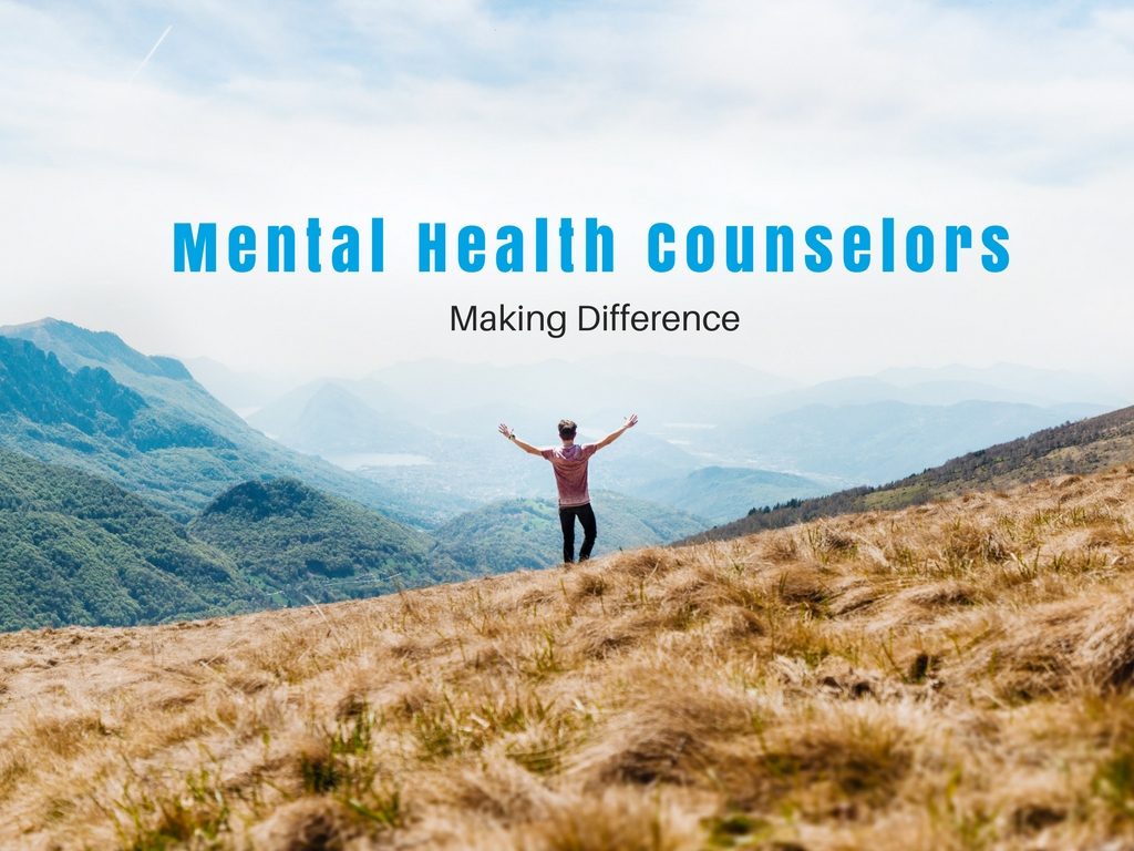 Certified Mental Health Counselors: Making A Difference