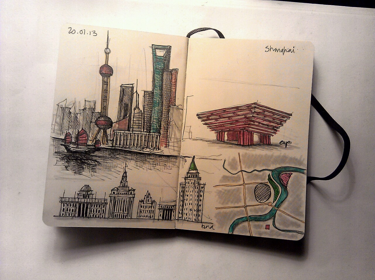 365 drawings later … day 355 … shanghai