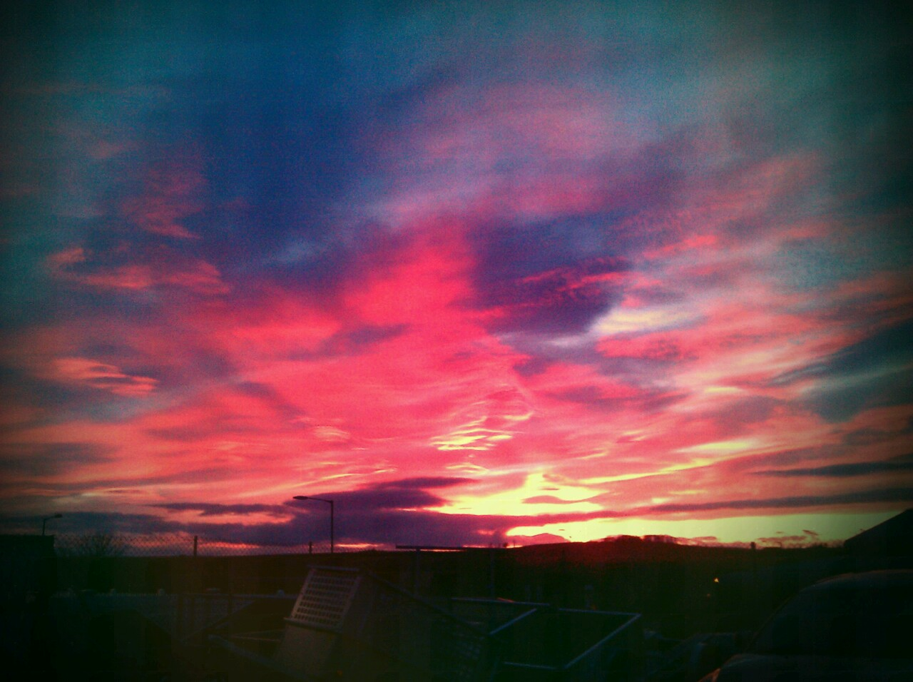 another lovely scottish sunset.. happy new year x