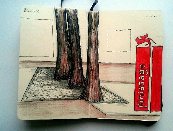 365 drawings later … day 299 … finissage
