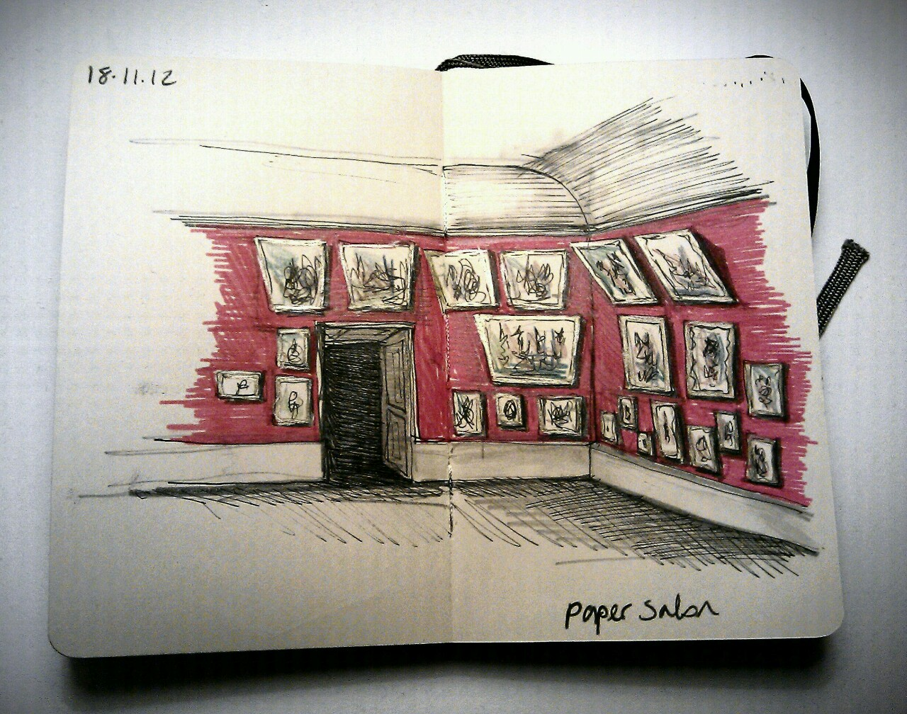 365 drawings later … day 292 … paper salon
