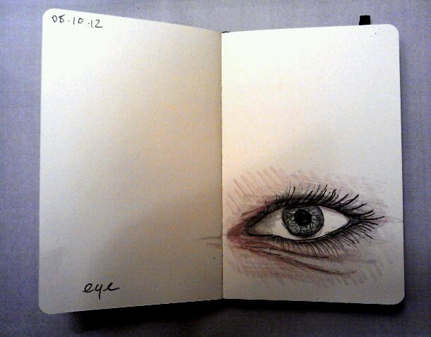 365 drawings later … day 251 … eye