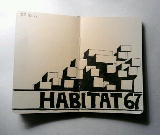 365 drawings later … day 245 … habitat 67