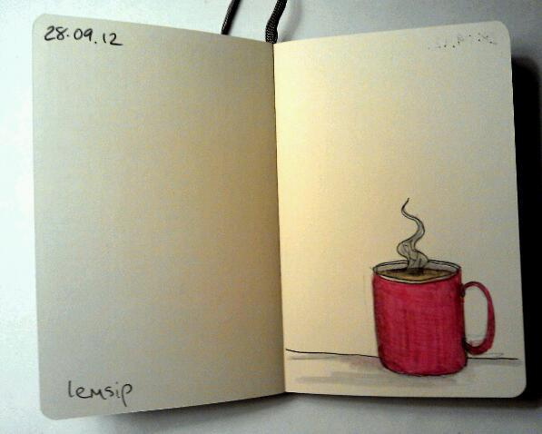 365 drawings later … day 241 … lemsip