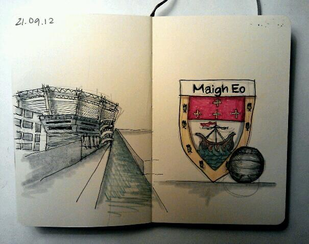 365 drawings later … day 234 … maigh eo