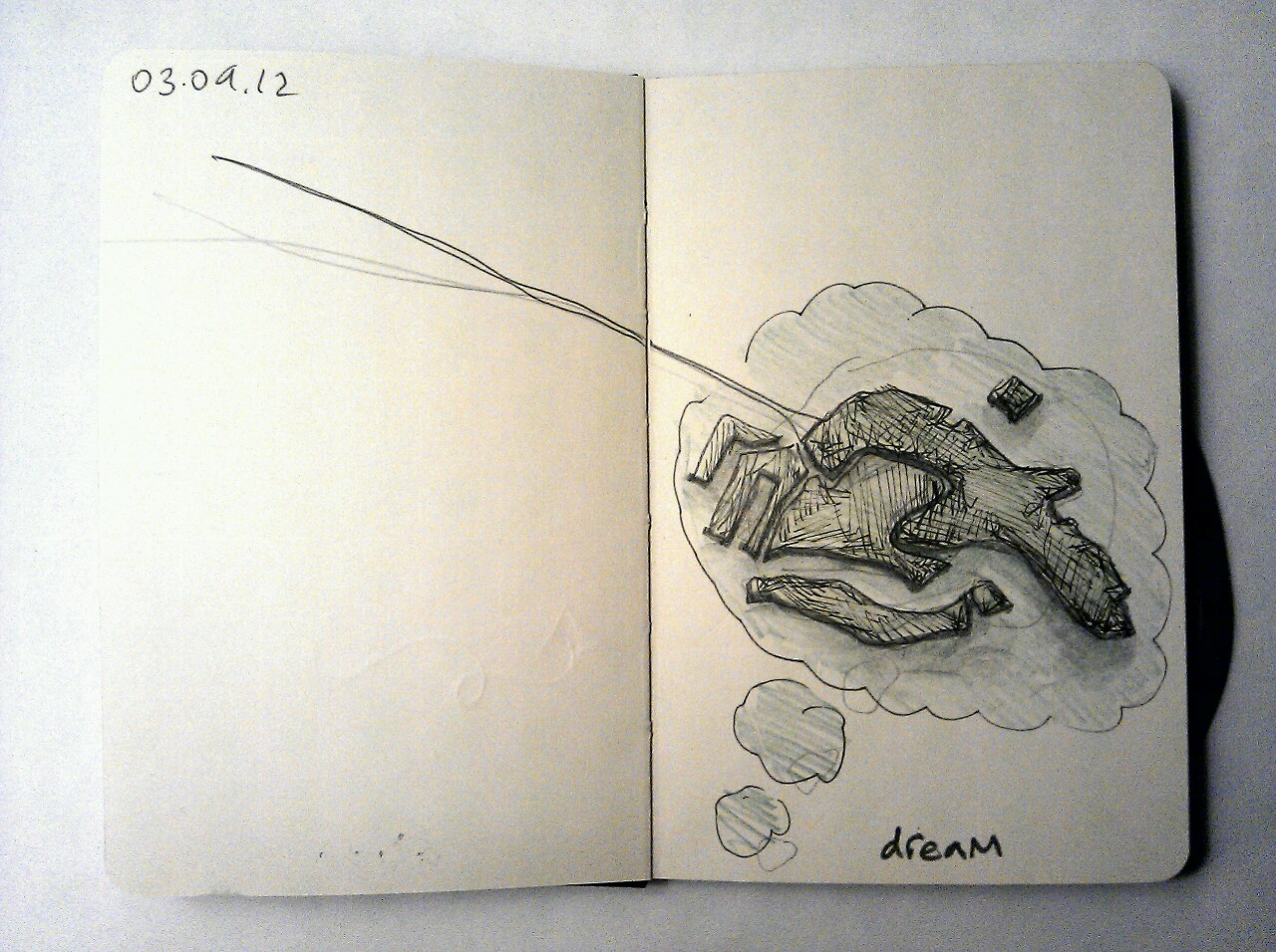 365 drawings later … day 216 … dream