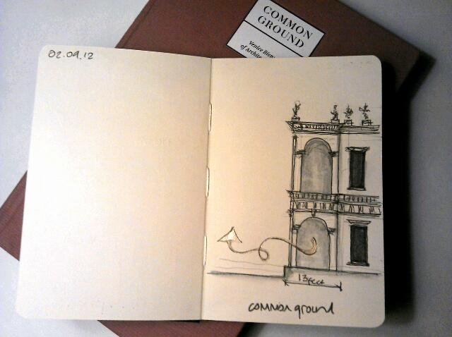 365 drawings later … day 215 … common ground