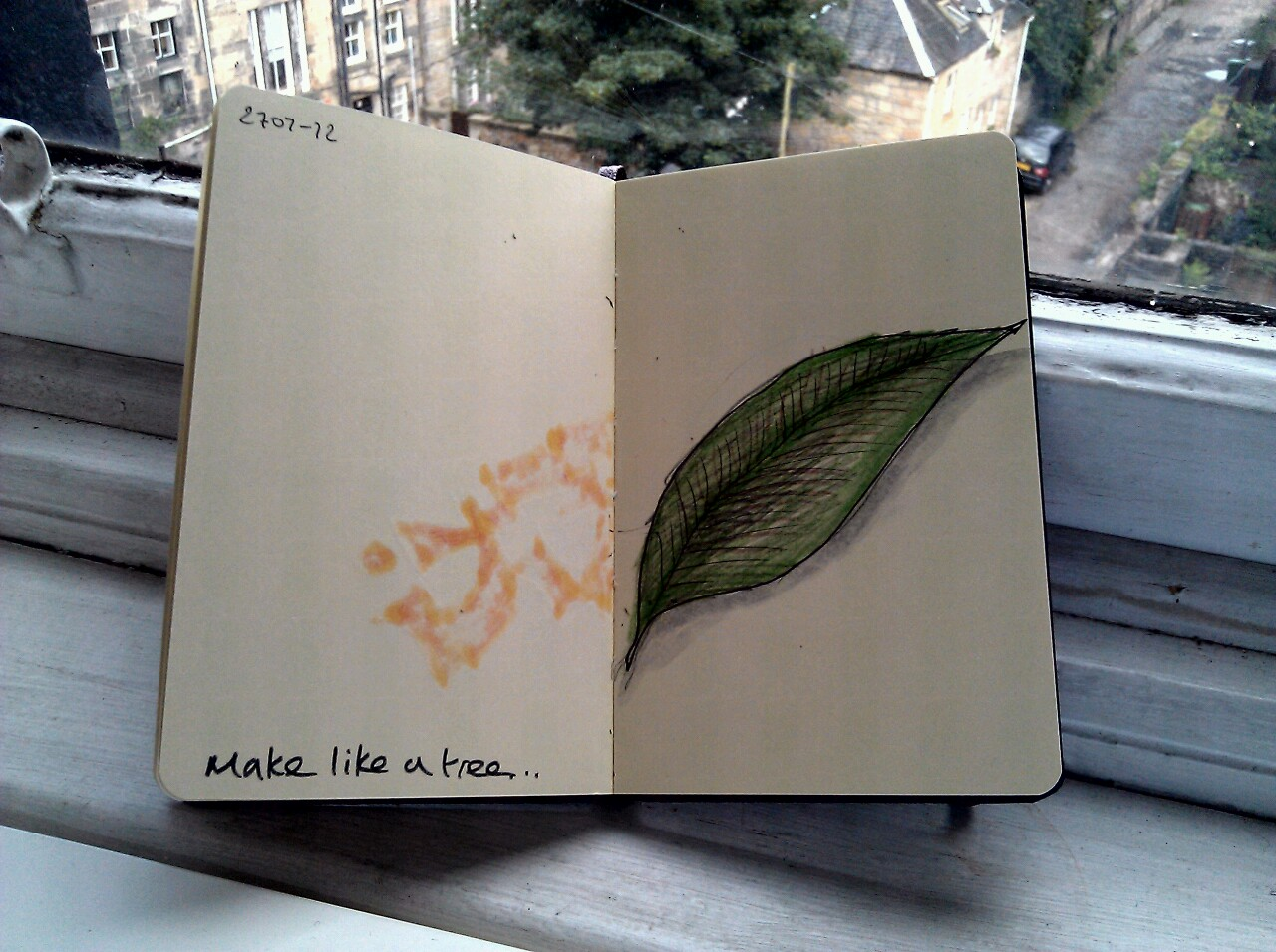 365 drawings later … day 178 … make like a tree [and leave]