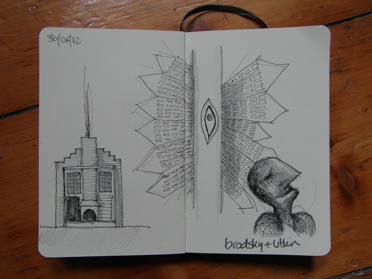 365 drawings later … day 151 … brodsky + utkin