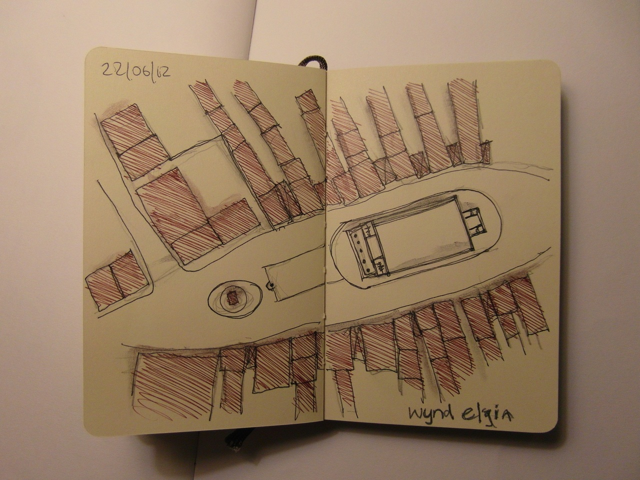 365 drawings later … day 143 … wynd elgin