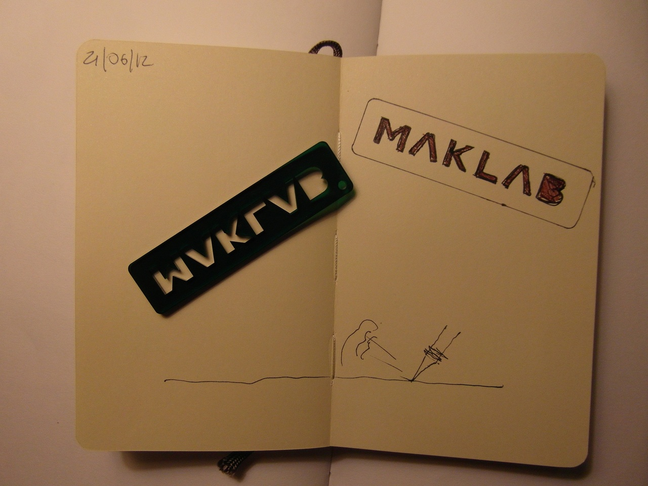 365 drawings later … day 142 … maklab