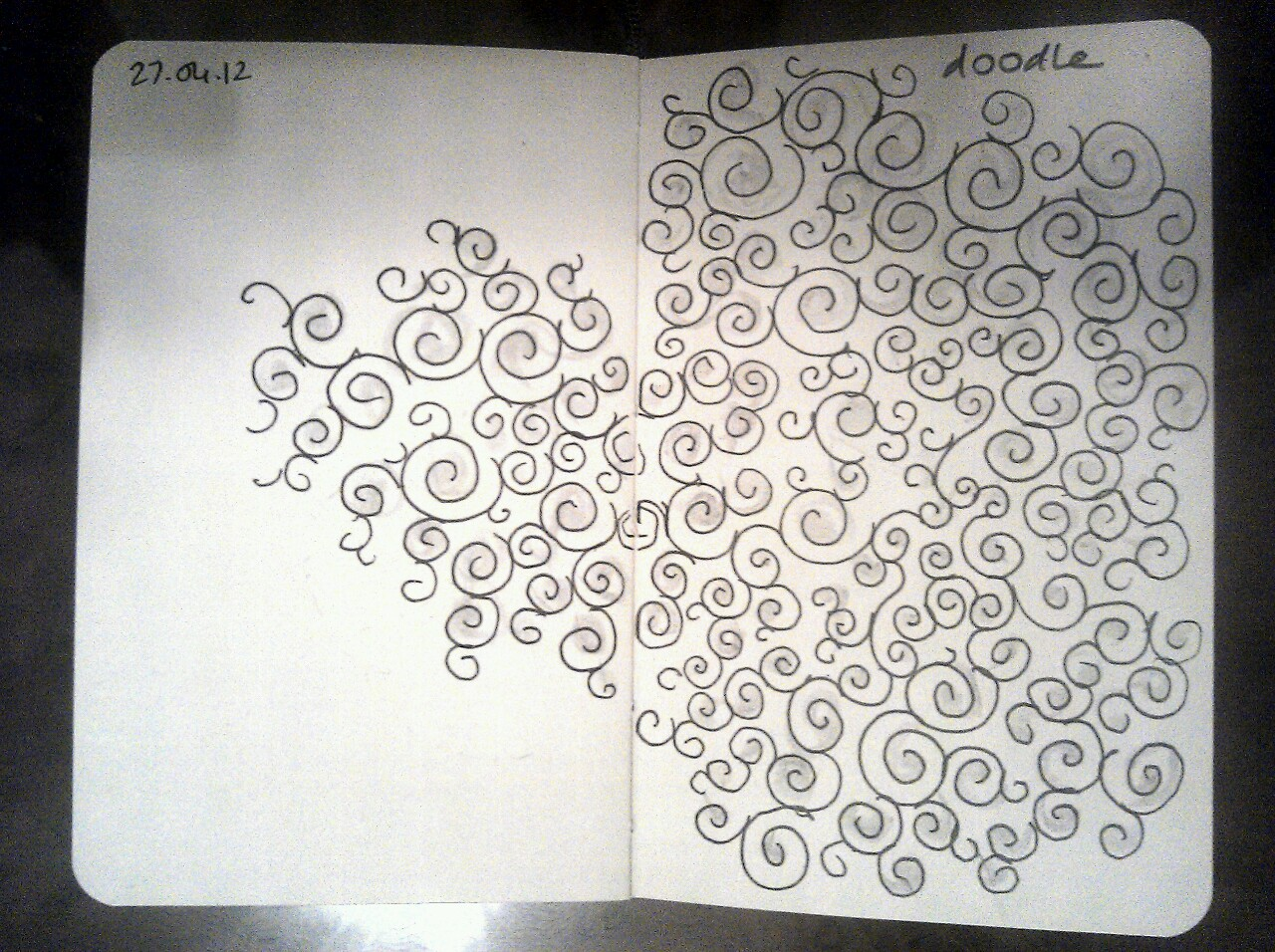 365 drawings later … day 87 … doodle