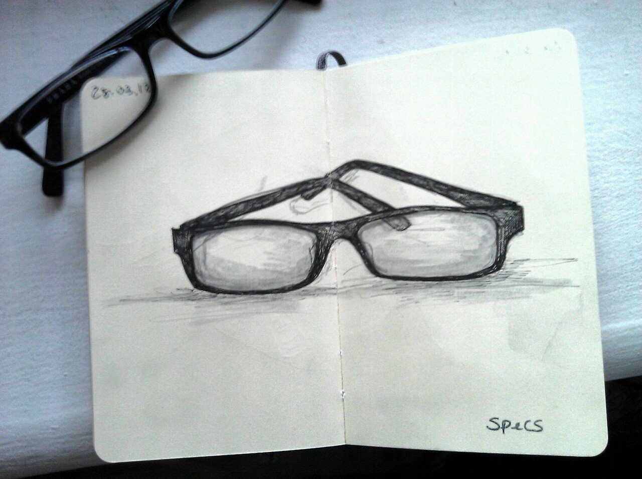 365 drawings later … day 57 … specs
