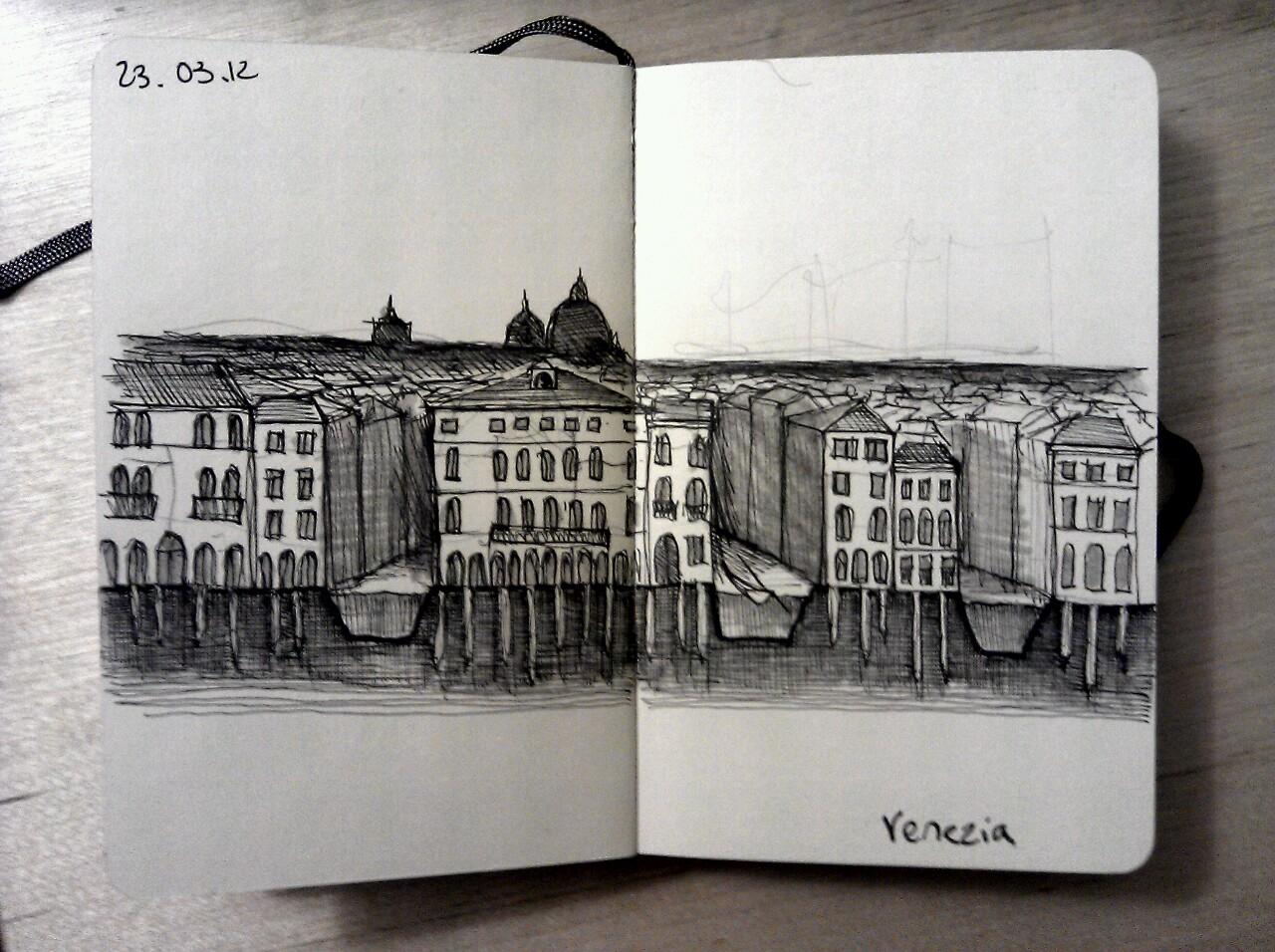 365 drawings later … day 52 … venezia