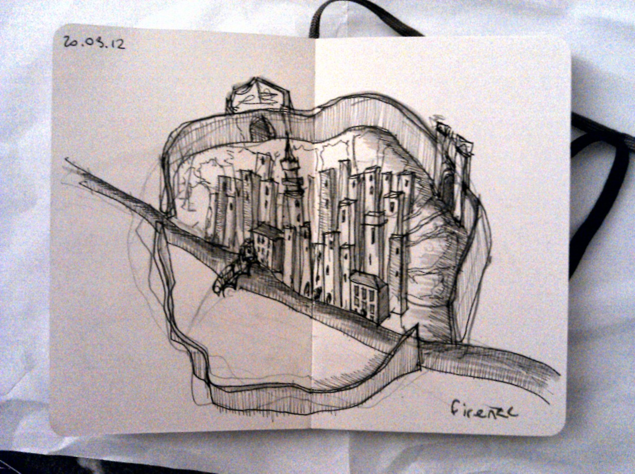 365 days later … day 49 … firenze (those towers again)