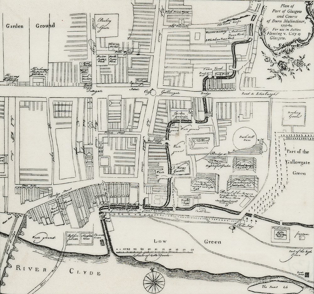 a beautiful yet intriguing map of Glasgow in 1764 … a snapshot from a collection of inspiration for my next series of drawings of the dear green place. ( http://www.theglasgowstory.com/imageview.php?inum=TGSA05245 )