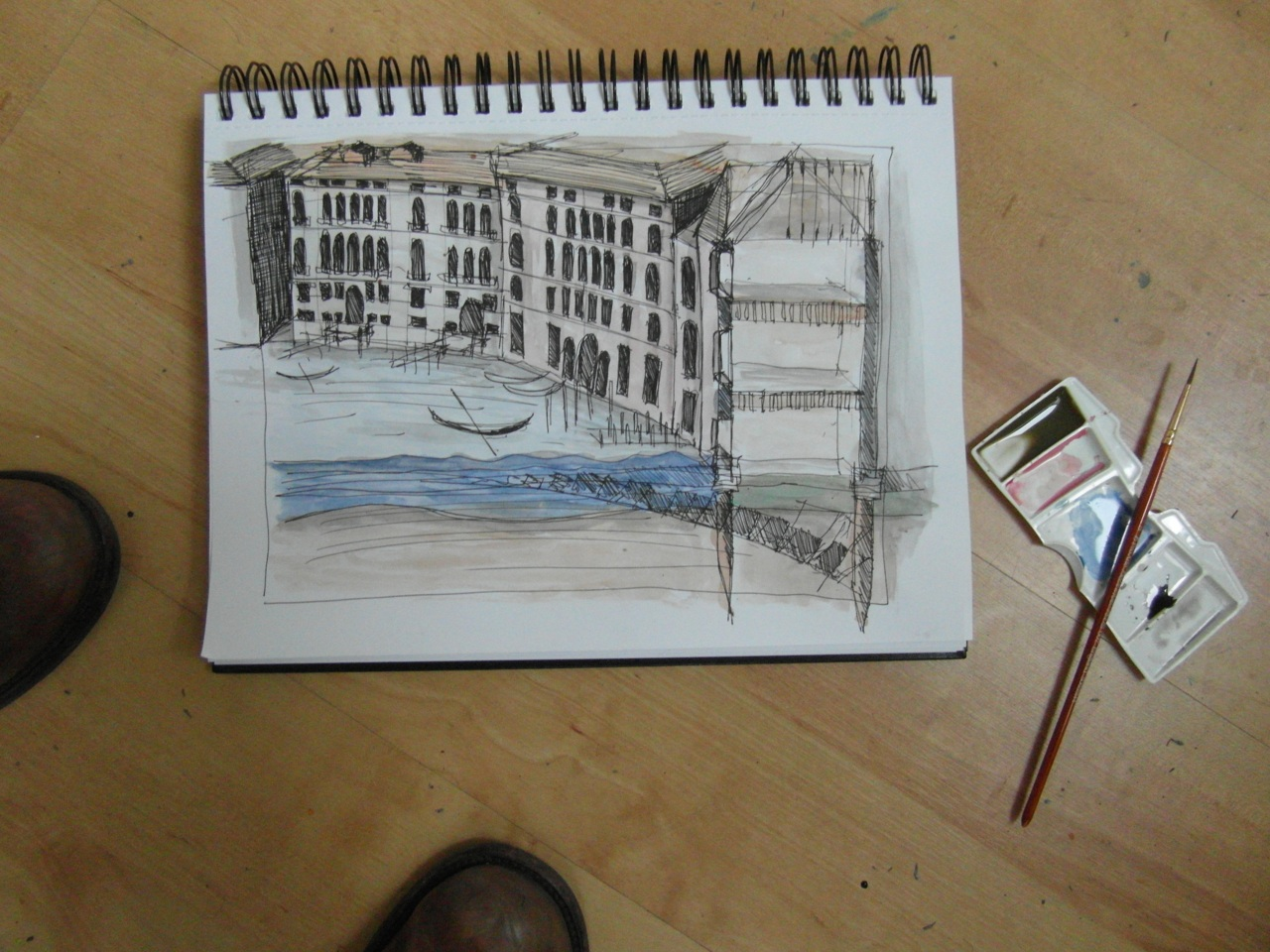 day 20 [still] … a venetian vignette