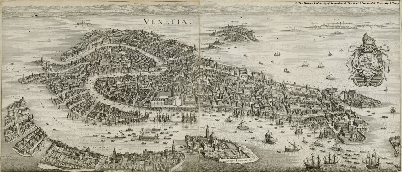 day 20 … have spent the morning trying to 'deconstruct' Venice, but as it's shrouded in so much mystery this is quite hard … have fallen in love with this beautiful map from 1635