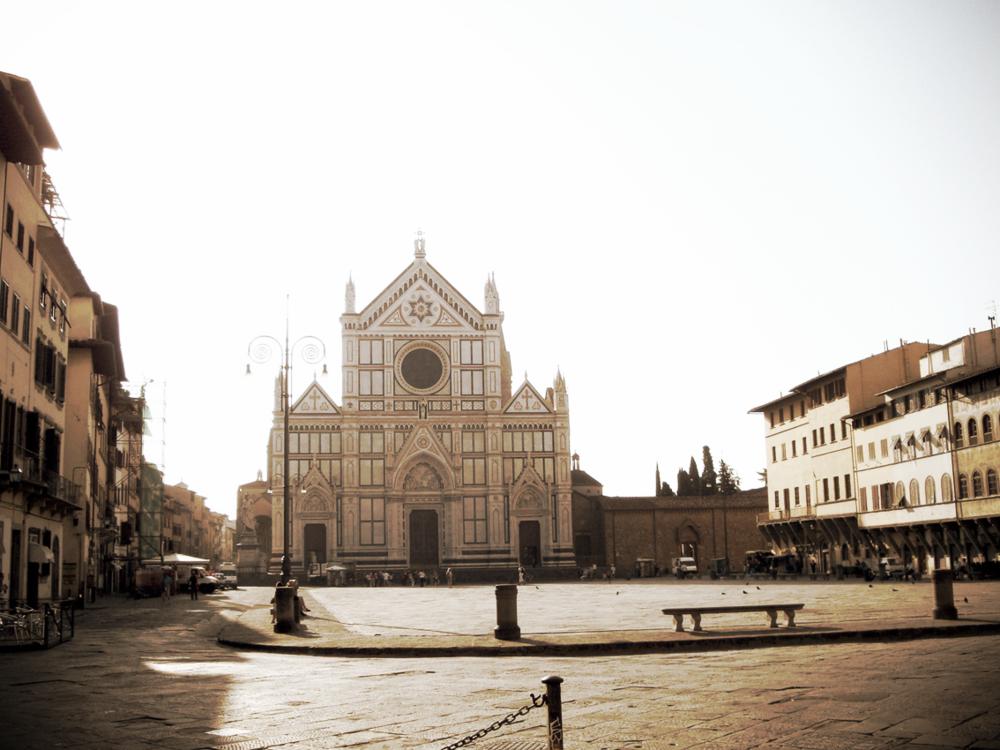 Piazza Santa Croce, Florence, 2009