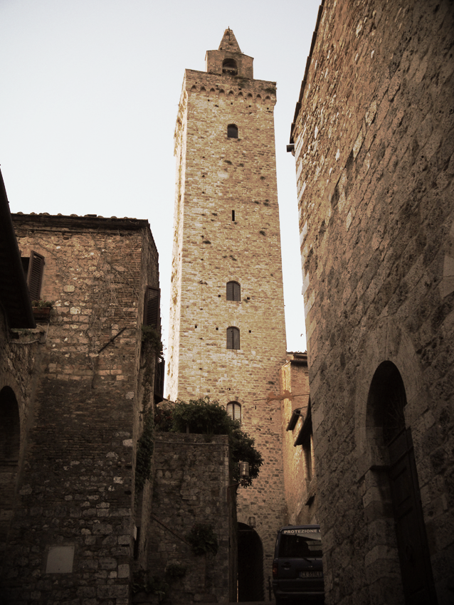 Medieval Tower, San Gimigniano, 2009
