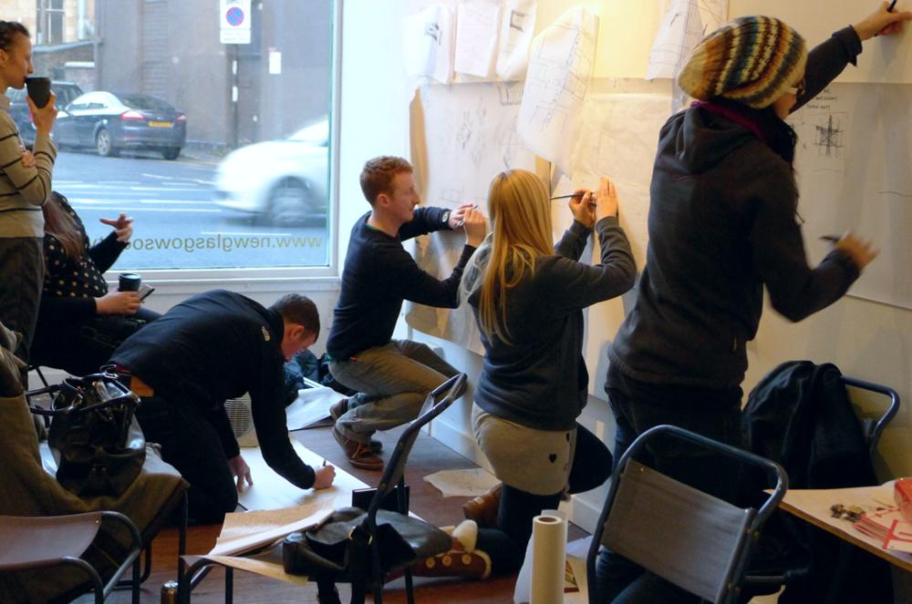 Drawing,  Paper Salon Glasgow, 2013