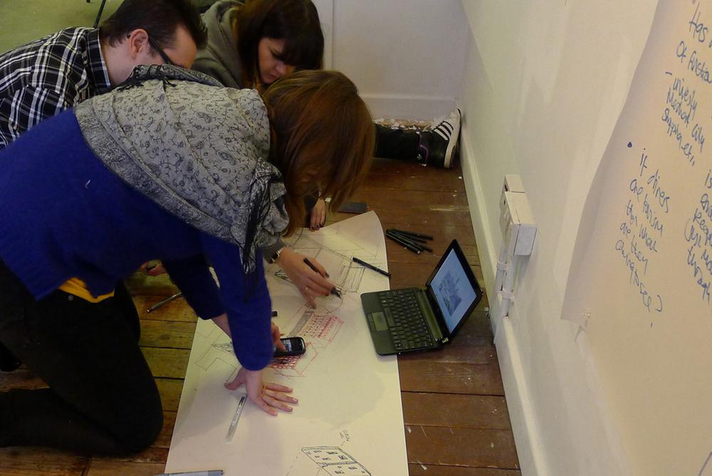 Drawi  ng,  Paper Salon Glasgow, 2013