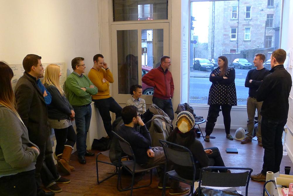 Presentations,  Paper Salon Glasgow, 2013