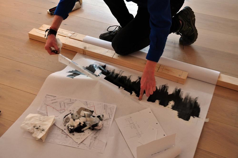 Creating,  Paper Salon London, 2013