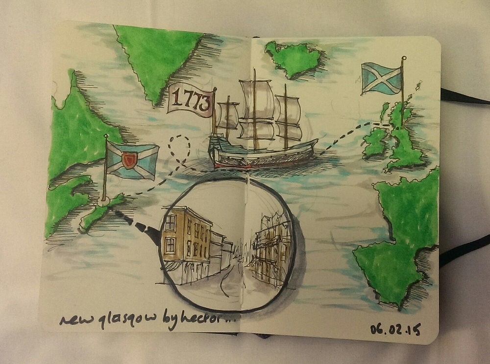 [6 of 28] new glasgow by hector.. the story of a ship called hector and how new glasgow came to be, in 1773