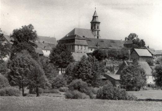 Zwei Postkarten vom Pfarramt Neudrossenfeld aus den früher 50er Jahren