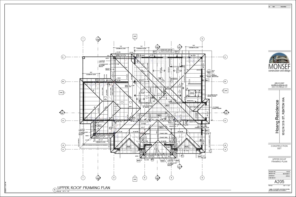 Roof plan example.  Source:  monsefdesign