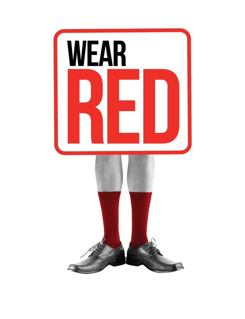 wear red for redr peraux design