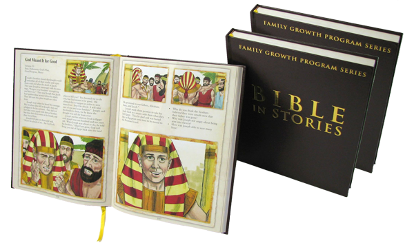 THE BIBLE IN STORIES