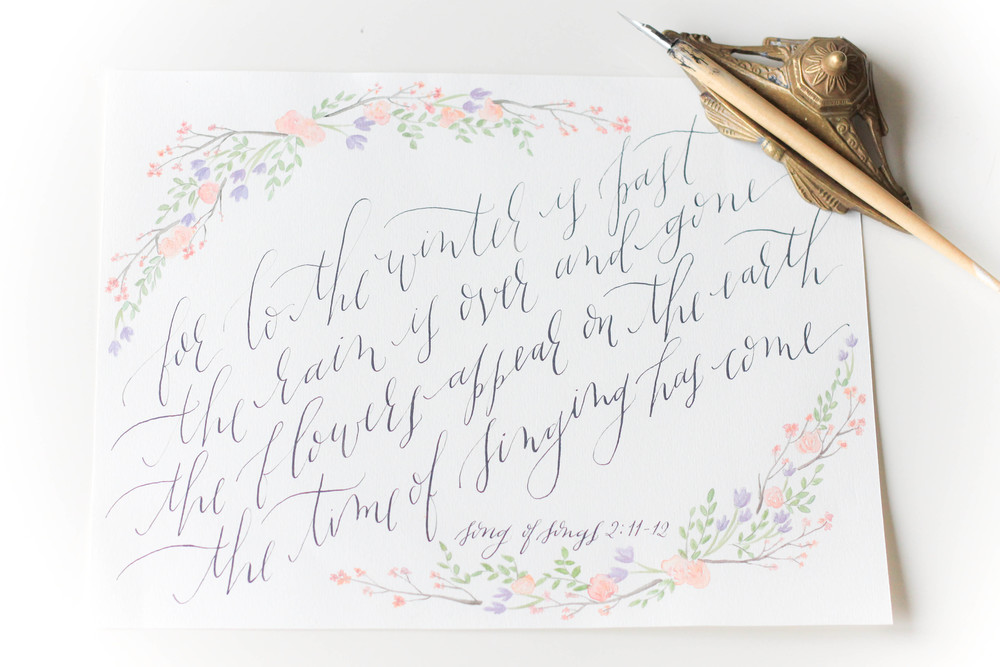 moira ink calligraphy