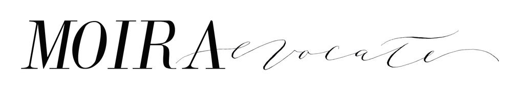 moira evocate | logo design