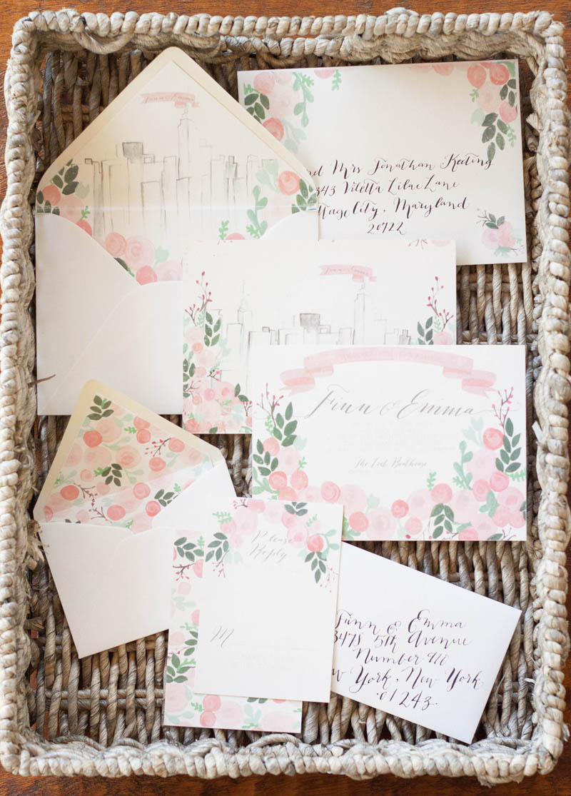 Design House of Moira | Illustrated Wedding Invitations