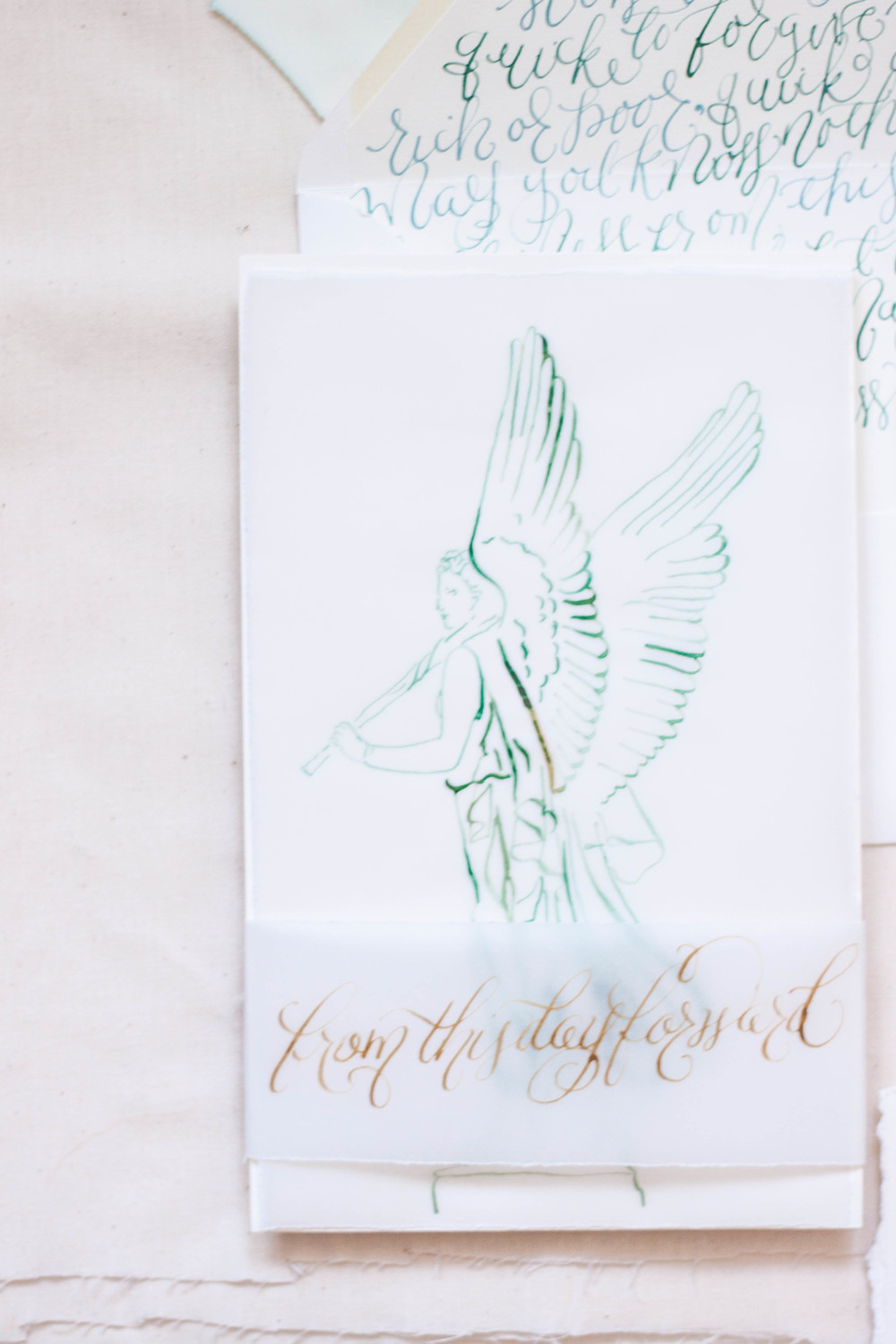 Design House of Moira | Calligraphy Wedding Invitations | Ireland