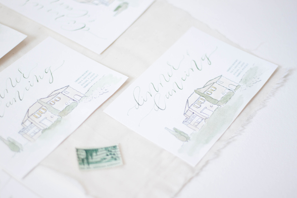 Design House of Moira | Artwork Wedding Invitation | Italian Wedding