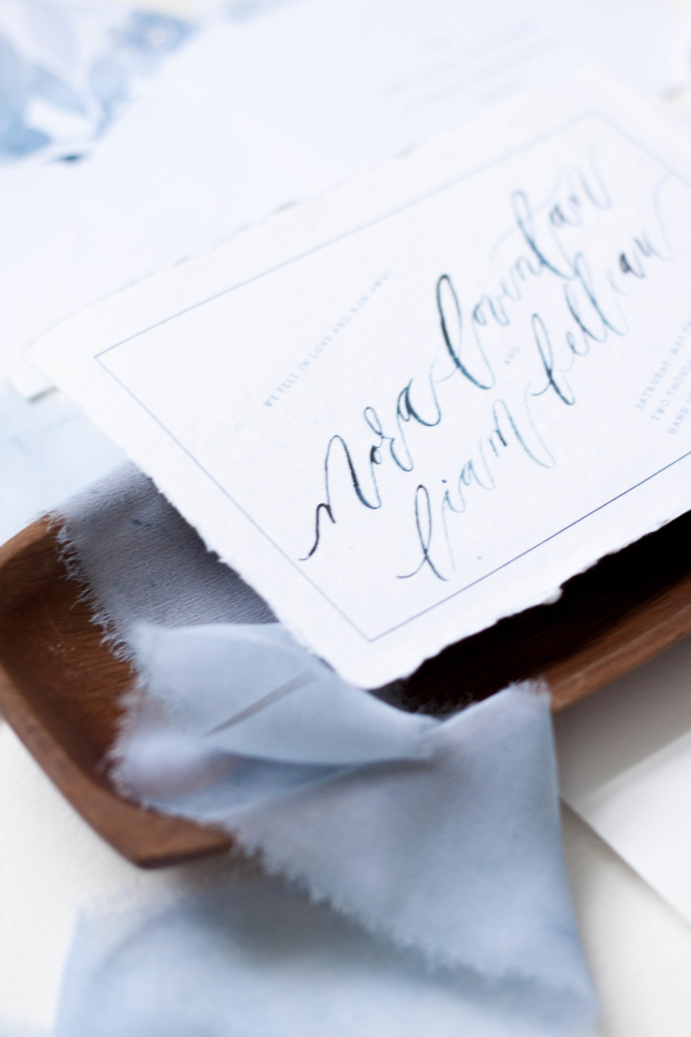Design House of Moira | Elopement | Custom Wedding Invitations