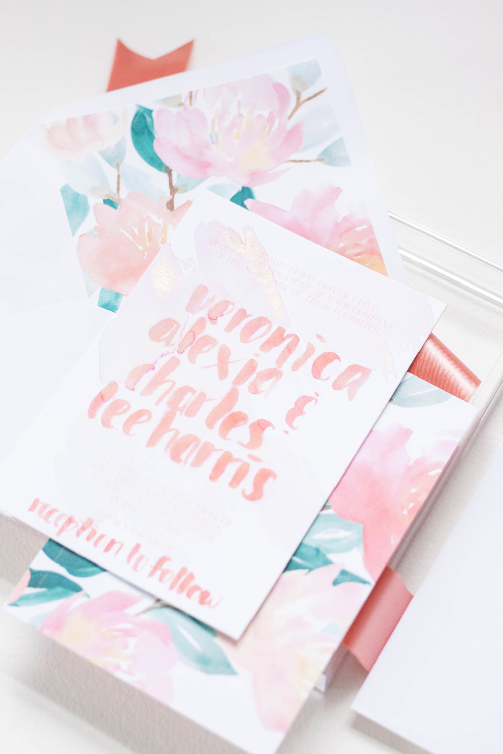 Design House of Moira | Summer Watercolor Invitation
