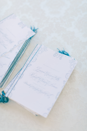 Design House of Moira | Love and Light Photography | French Blue Wedding Invitations